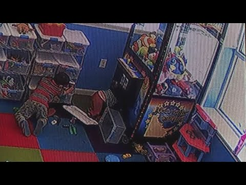 RAW VIDEO: Boy Rescued After Getting Stuck Inside Toy Claw Machine At Allentown Laundromat
