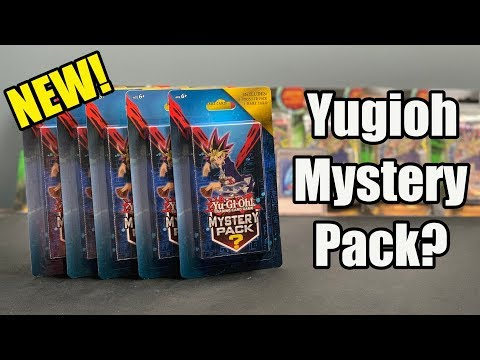Yugioh Mystery Pack – New Repackaged Product! – OLD SCHOOL PACKS???