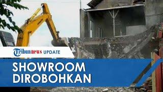 Uang Jual-Beli Tanah Tak Dilunasi, Pria di Kediri Robohkan Bangunan Show Room Senilai Rp1,2 Miliar