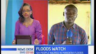 Hundreds left homeless in Kisumu as heavy rains continue