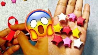 DIY STAR paper craft 🌟💫