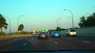 🔴 с РАБОТЫ домой 🔴 авария на скоростной трассе ТРАК Флорида США October 10, 2018