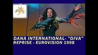 "Dana International - ""Diva"" (Reprise performance - Eurovision Song Contest 1998) HQ"