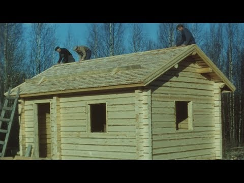 A Log House (1990) - The process of building a traditional Finnish log house. Sponsored by the National Board of Antiquities. English Narration