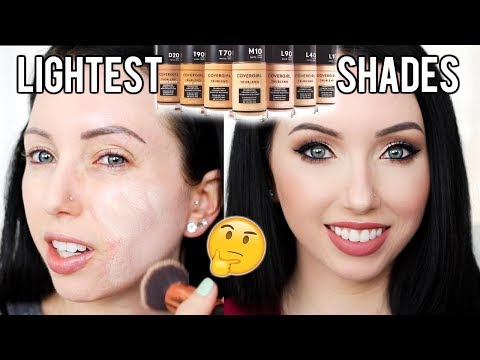 40 SHADES NEW Covergirl Matte Made Foundation {First Impression Review & Demo!} Fair Skin