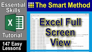 Excel Tutorial: Hide and Show the Excel Formula Bar and Ribbon | ExcelCentral.com