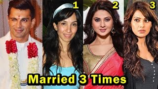 9 Bollywood Celebs Who Got Married 3 Times Or More | 2017