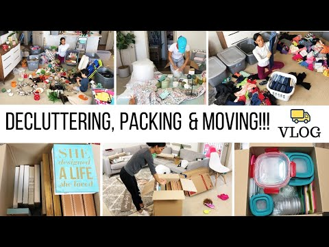 DECLUTTERING // PACKING & ORGANIZATION // Jessica Tull cleaning