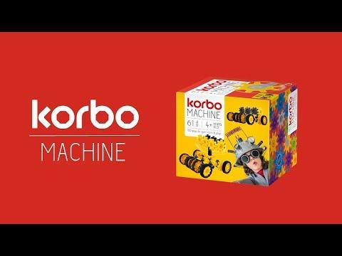 Конструктор Korbo Machine 61 эл