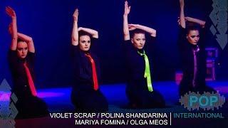 SHOW SOUND / TRIBAL-KZ 8 / VIOLET SCRAP, POLINA SHANDARINA, MARIA FOMINA, OLGA MEOS