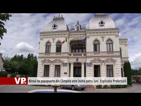 Biroul de pașapoarte din Câmpina este închis patru luni. Explicația Prefecturii
