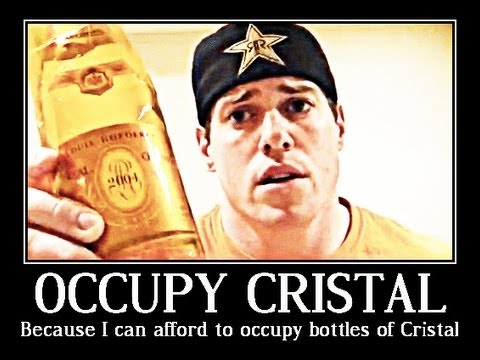 How to Chug a $260 bottle of CRISTAL CHAMPAGNE in 1 min