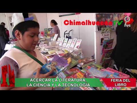 REALIZAMOS X FERIA DEL LIBRO DE CHIMALHUACÁN