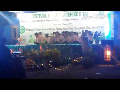 zikir Barjanzi Allahu Allahurabbuna ACEH, Festival Budaya Aceh Ke II Tahun 2019