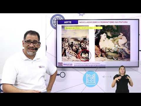 Aula 03 | Neoclassicismos e Romantismo na Pintura - Parte 02 de 03 - Arte