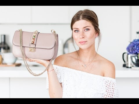 What's In My (Valentino Medium Lock) Bag