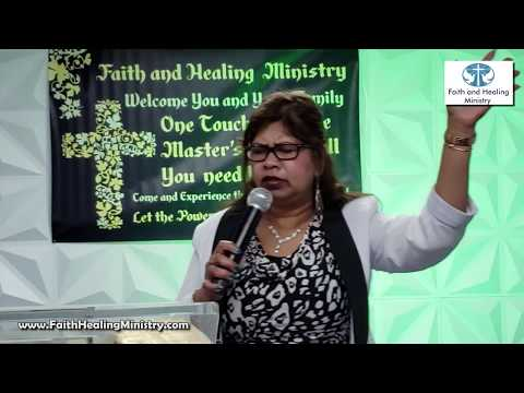 """Authority in Jesus Name"" with Rev. Farida Doodnauth"