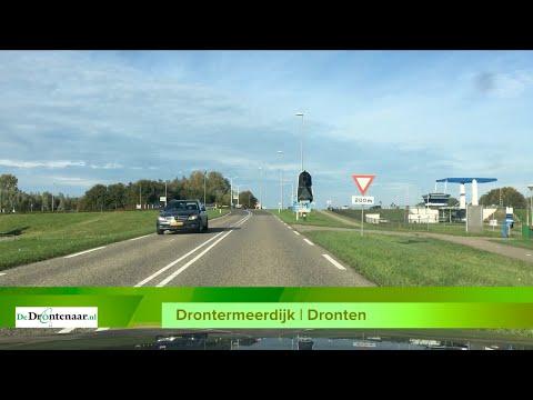 Fietspad langs Drontermeerdijk ligt straks bij extreme weersomstandigheden onder water