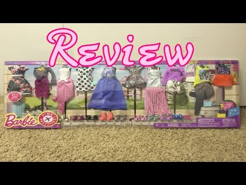 NEW Barbie Pink Passport HUGE Fashion Packs Review !!   Toys R Us Exclusive ?!