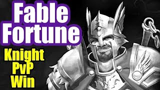 How to Win as Knight - Fable Fortune PvP Gameplay #1