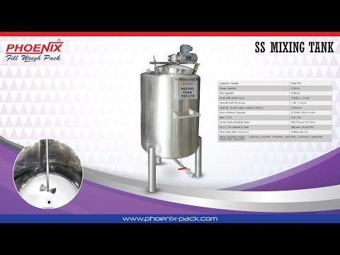 Perfume Mixing Tank
