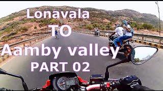 Mumbai To Lonavala | Ride TO Aamby valley | So much FUN SuperBIKE| PART 02 |