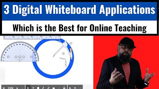 3 Digital Whiteboard Applications [Which is the Best for Online Teaching]