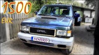 Opel Monterey 3.1 TD 1993 г. Авто из Латвии.