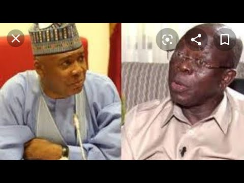 UNBELIEVABLE: NIGERIAN DISGRACE SENATOR SARAKI OF INFLUENCING SENATORS TO DECAMP FROM APC TO PDP