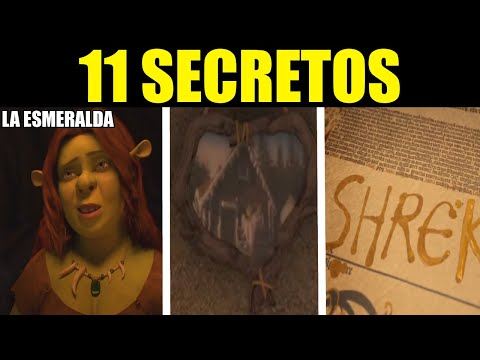 11 SECRETOS de SHREK FOR EVER (SHREK 4) QUE TARDARON AÑOS en DESCUBRIR (PARTE 2)