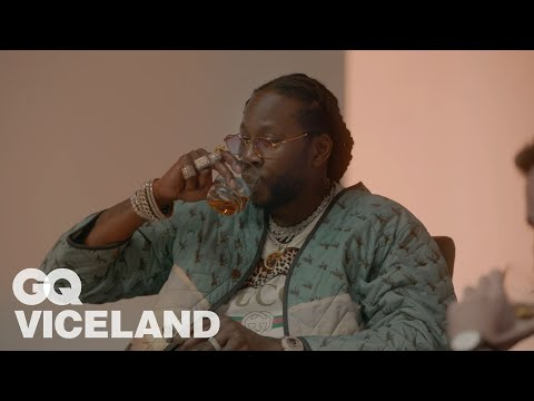 2 Chainz Drinks $10K Japanese Whiskey | Most Expensivest | GQ and VICELAND (видео)