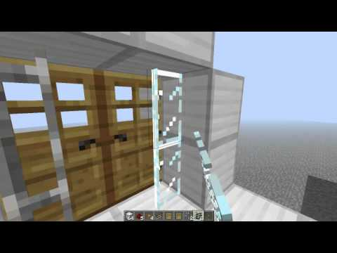 Locking Wooden Doors and Auto-closing Doors & Locking Wooden Doors and Auto-closing Doors Minecraft Project