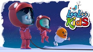 As High As the Moon 🌙 Educational Songs for Children  | LooLoo Kids