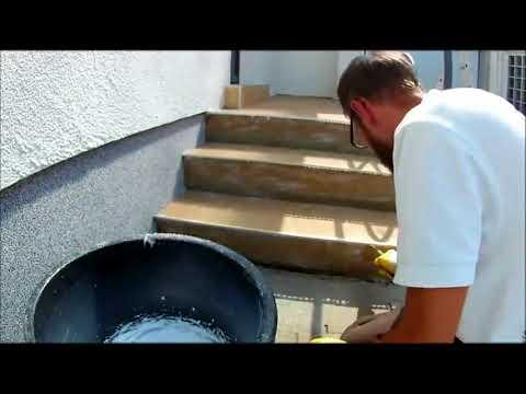 FuboTech @ Work - Treppensanierung mit Steinteppich
