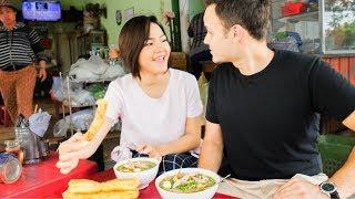 HUGE Vietnamese Street Food Tour NORTH to SOUTH | BEST Street food in Vietnam 2017  | DANANG