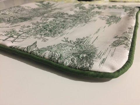 Come cucire un cuscino con il gallone - parte 1