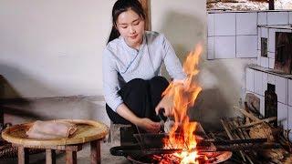 The best method of cooking pig's skin—Thai-flavored Lemon and Pig's Skin.