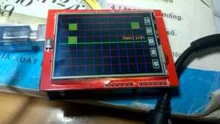 Arduino Oscilloscope 2 Channel with TFT LCD 3 5