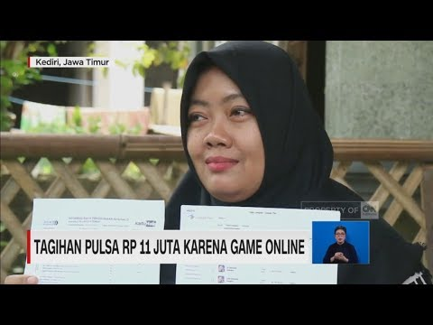 Tagihan Pulsa Rp 11 Juta Karena Game Online