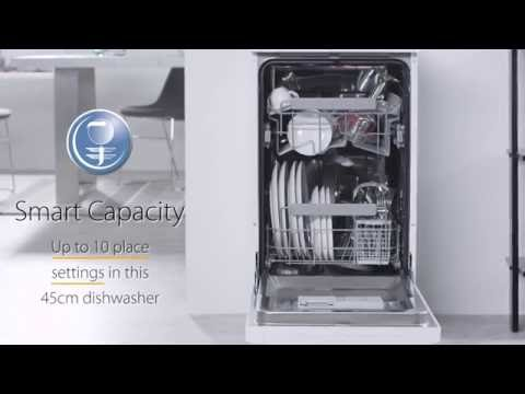 Whirlpool ADP301WH UK 45cm Dishwasher