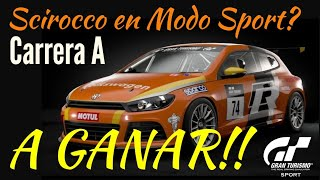 Gran Turismo Sport - Hoy me ha dado por el Modo Sport... Con el Scirocco tengo que ganar !!