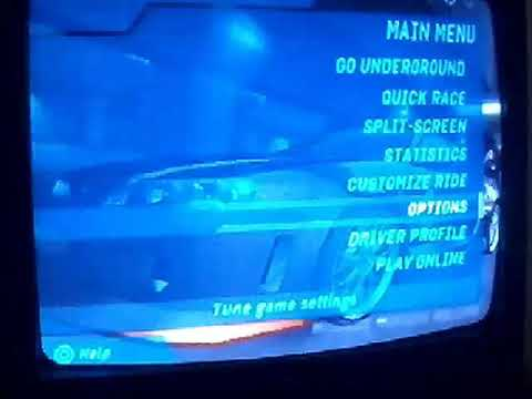 Need for speed underground upgrade and racing