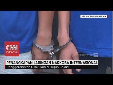 BNN Tangkap Pengedar Narkoba Jaringan Internasional