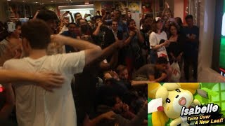 LIVE REACTION TO ANIMAL CROSSING 2019/ISABELLE IN SMASH BROS NINTENDO NY
