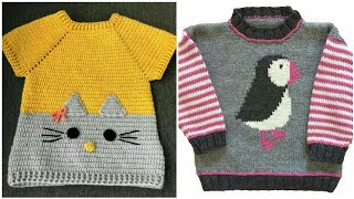 Very Beautiful And Stylish Hand Knitting Baby Sweaters New Designs