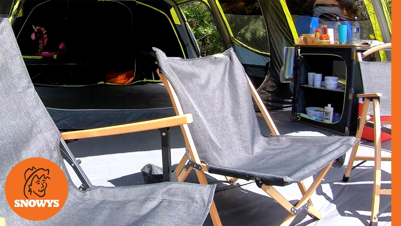 Roco Lounger Camp Chair V2