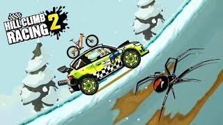 ПОДЪЕМ НА ГОРУ ивент Hill Climb Racing 2 THE RISE OF THE HILL game kids мульт игра про машинки гонки