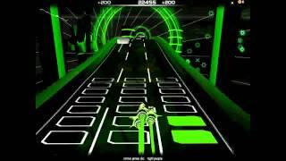 Audiosurf / Ronnie James Dio - Night People [Ninja Mono Version]