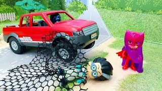 Мультики для детей - мультики с игрушками герои в масках на русском 2019 года - Футбол!