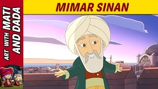 Art with Mati and Dada –  Mimar Sinan | Kids Animated Short Stories in English
